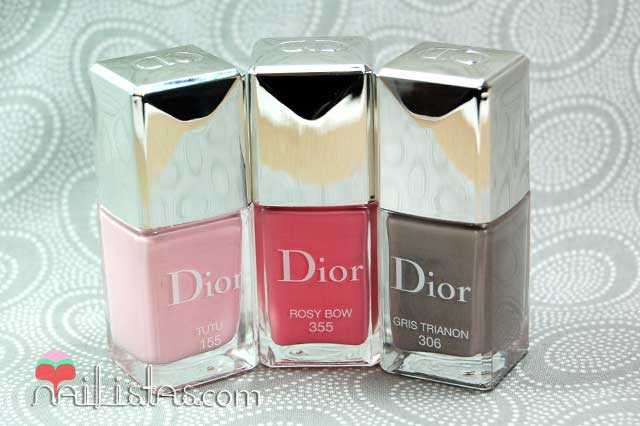 Dior Cherie Bow Nail Polishes Dior Vernis