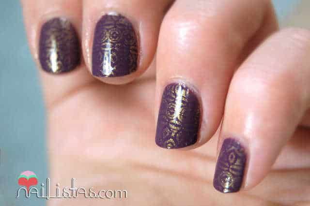 Purple Mix de Dior con placa Bundle Monster 315
