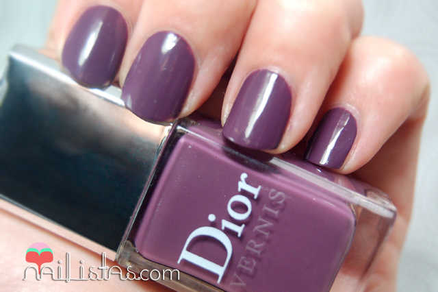 Swatch del Purple Mix de Dior