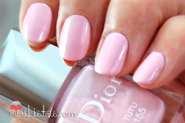 Dior 155 Tutu Swatch - Cherie Bow - spring 2013