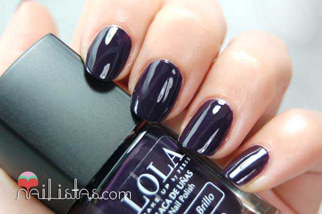 Esmaltes LOLA Make Up, 031 Gothica Swatch