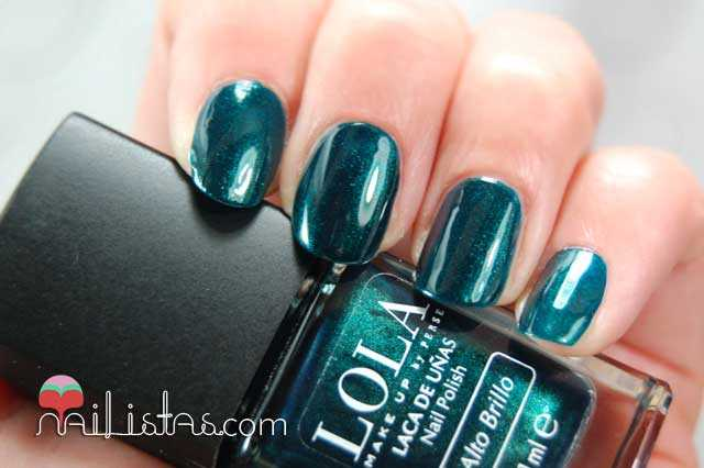 Esmaltes LOLA Make Up, 032 Neptune Swatch
