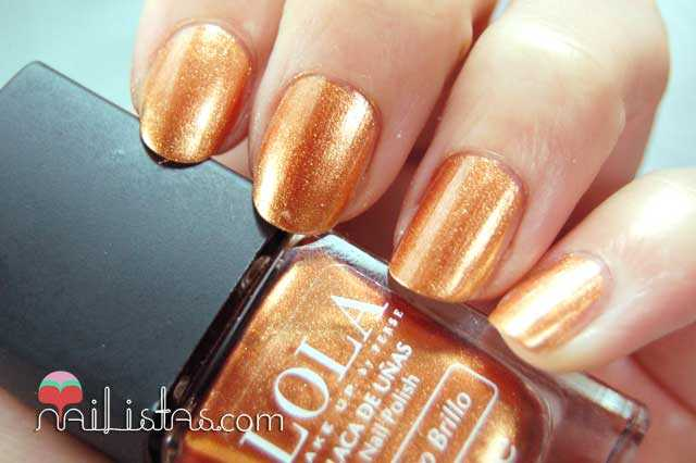 Esmaltes LOLA Make Up, 034 Egyptian Goddess Swatch