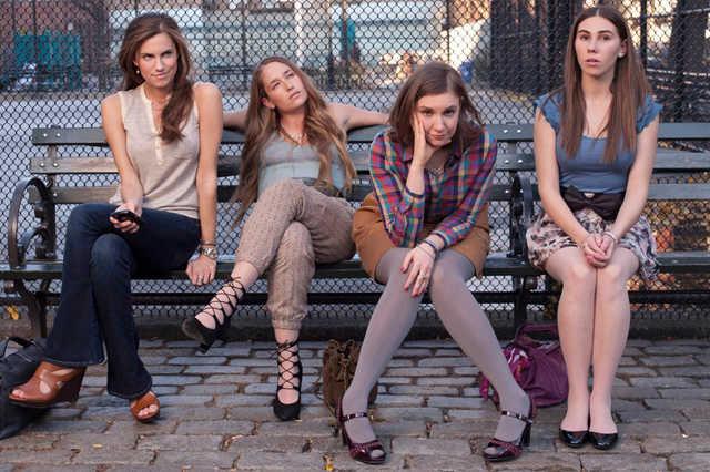 Protagonistas de la serie Girls HBO