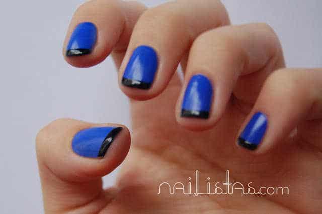 Videotutorial de manicura francesa de colores nailistas - Manicura francesa colores ...