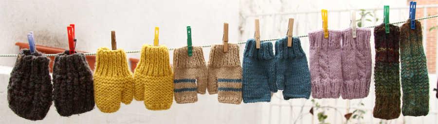 mitones de lana Länuk
