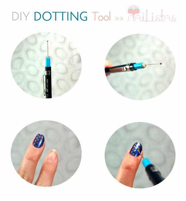 DIY cómo fabricar tu propia dotting tool paso a paso.