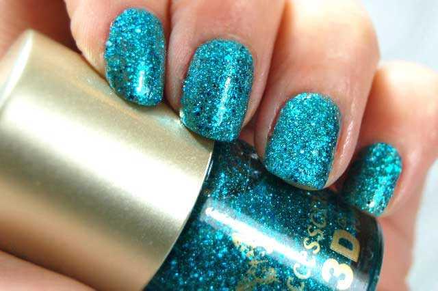 Accesorize 3D - Emerald City, un glitter muy puro lleno de brillo.