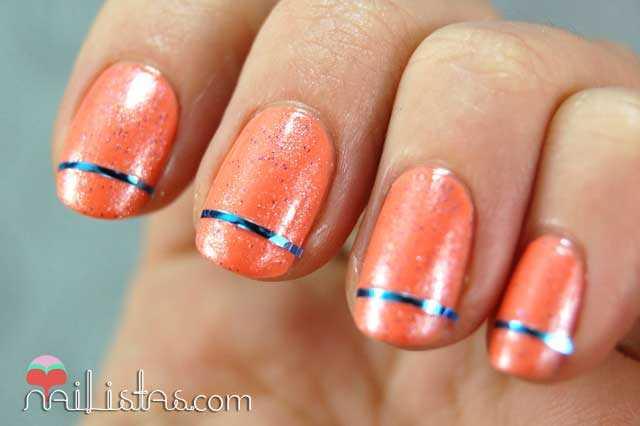 Cinta para decorar uñas // Nail art