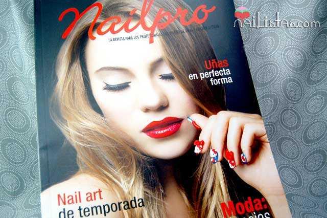 Portada de la revista Nailpro Spain