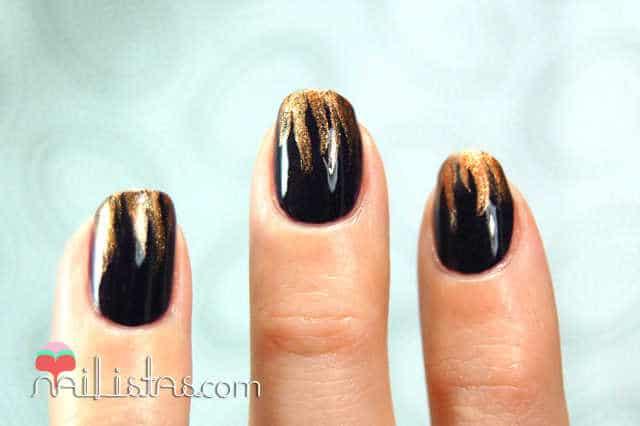 Nail art sencillo para uñas cortas y largas