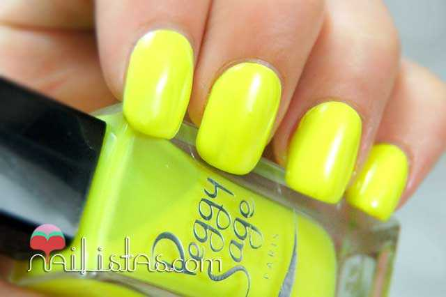 Swatch  Neon Yellow (294) - Peggy Sage
