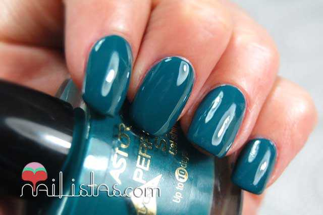 Swatch Drama Green Perfect Stay Gel Shine Astor