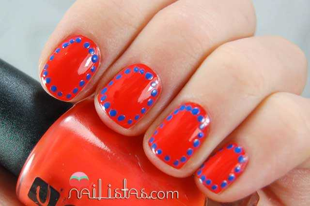 frame nails // uñas enmarcadas