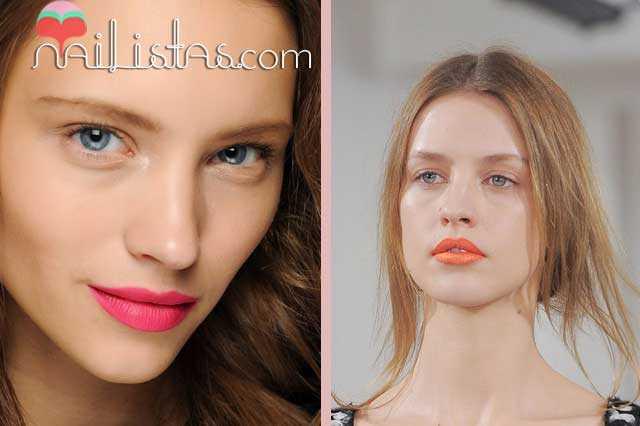 Tendencia de maquillaje labios 2013