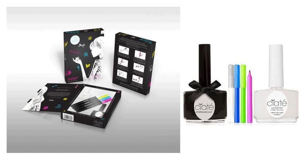 Kit de uñas efecto pizarra de Ciaté