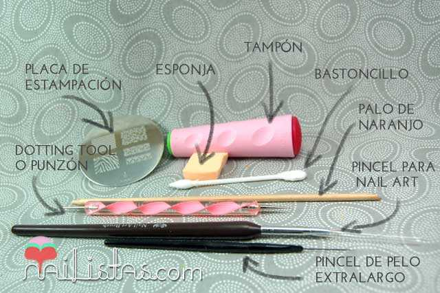 Herramientas para decoración de uñas // Cómo hacer nail art - Nailistas |  Productos de uñas — Nailistas | Productos de uñas — Tienda online de uñas y  productos de nail art stamping