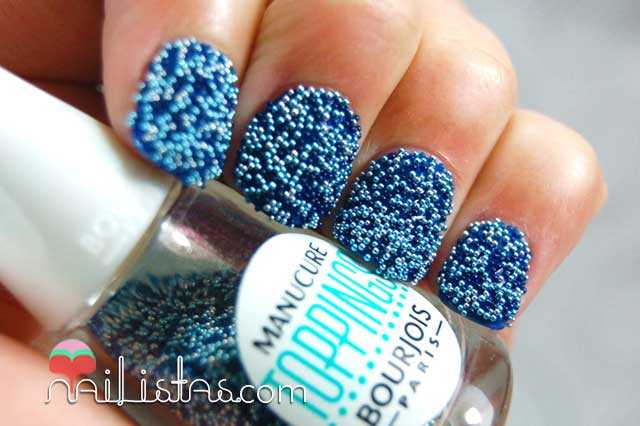 Bourjois colección South Beach Maliblue Swatch