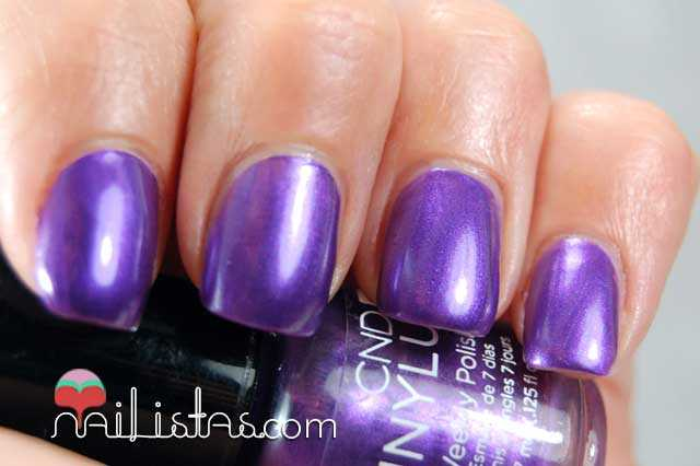Swatch de Grape Gum de Vinylux, CND (colección Summer Splash)