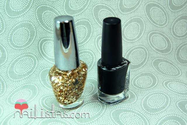 Esmalte glitter Easy Paris Low cost y Esmalte CND