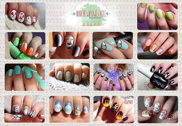 Nail art mix ideas