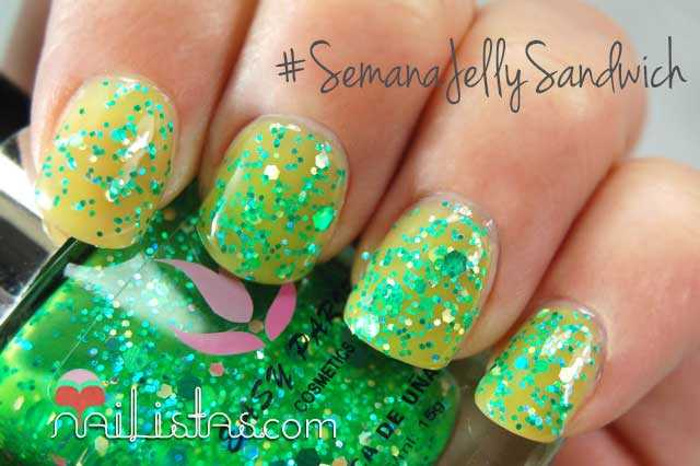 Esmalte Frankenpolish DIY jelly Sandwich verde