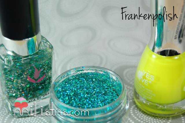 Haciendo un esmalte Frankenpolish DIY