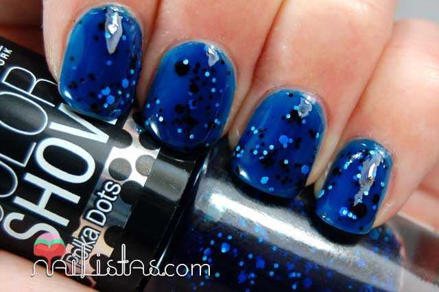 Color Show Polka Dots Shooting stars Swatch
