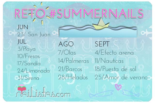 Reto Summernails // Uñas de verano
