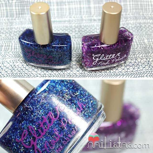 Esmaltes de uñas Glitter Nail Polish de H&M