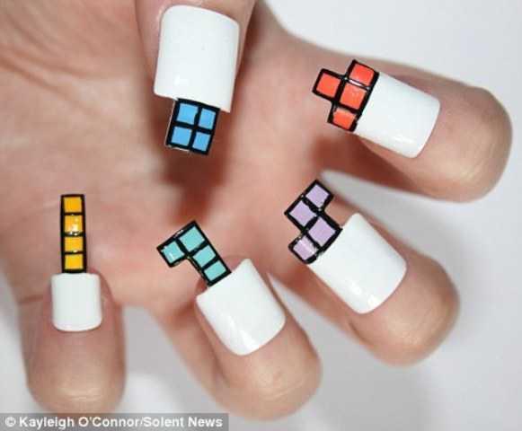 Nail Art de Tetris