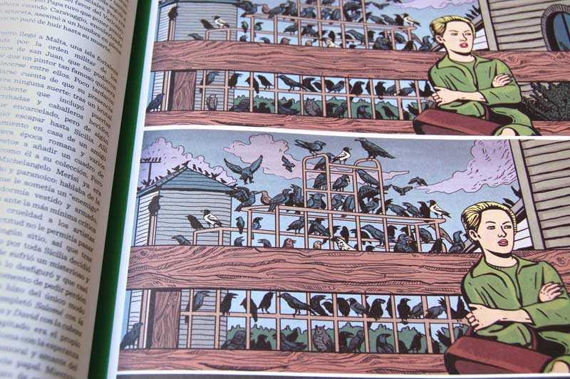 Página del cuaderno de verano Blackie Books 2