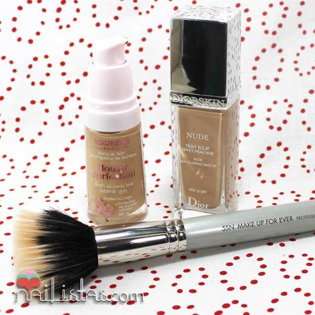 Flower Perfection de Bourjois y Diorskin Nude