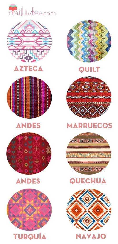 Diseños de estampados tribales
