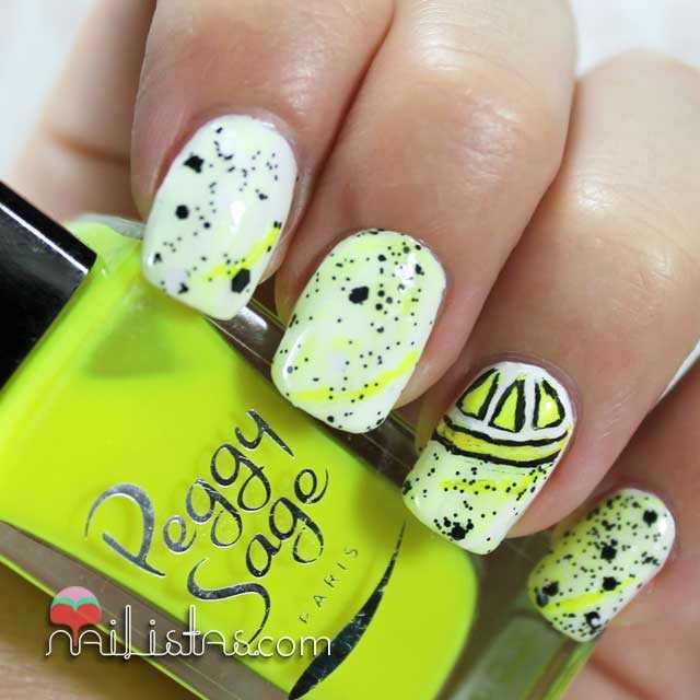 Uñas decoradas con frutas | Reto #Summernails Limonada - Nailistas ...