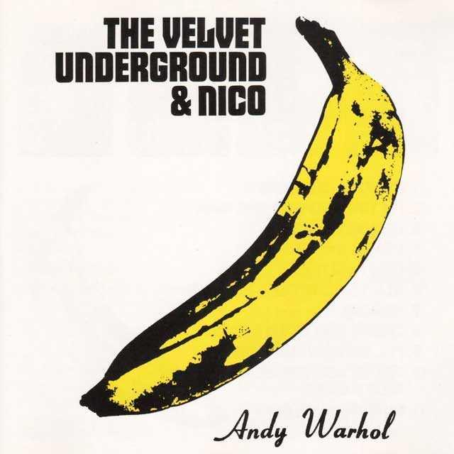 The Velvet Underground & Nico Andy Warhol LP Cover
