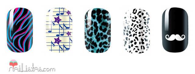 Pegatinas para las uñas de OMG Nail Polish Strips
