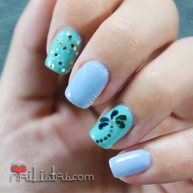 Uñas decoradas con palmeras | Nail art de verano