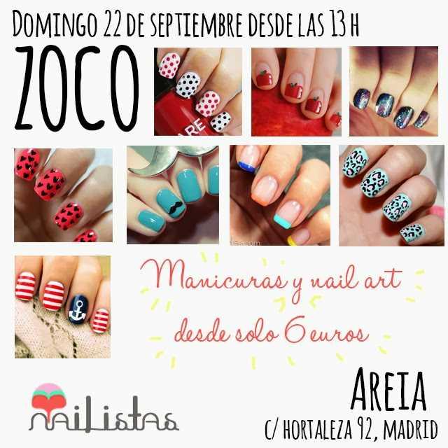 fotografías de uñas decoradas y nail art