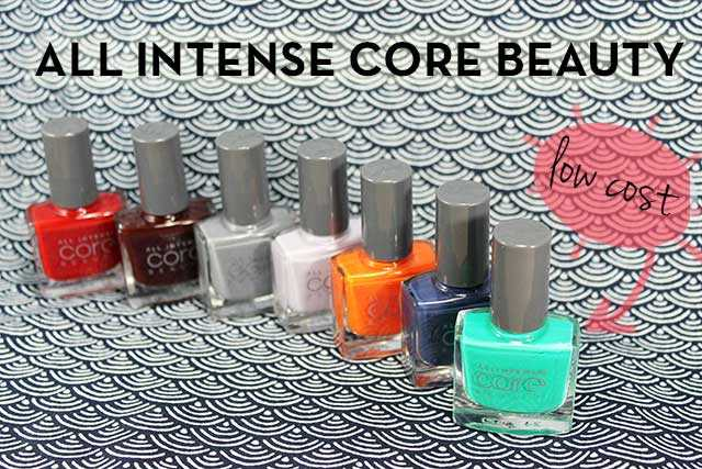 Esmaltes de uñas All Intense Core Beauty