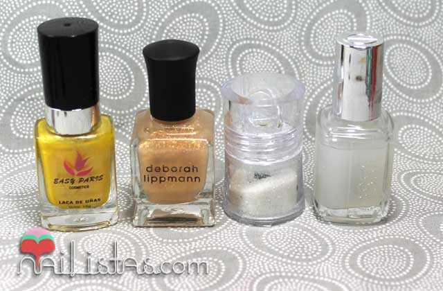 Esmaltes de uñas y purpurina