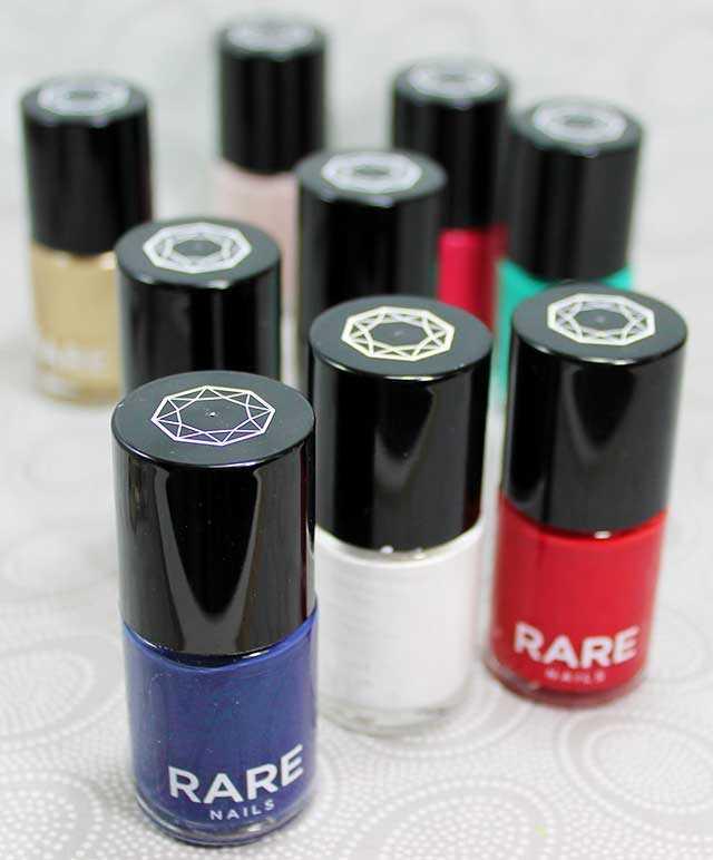 Esmaltes de uñas Rare Nails