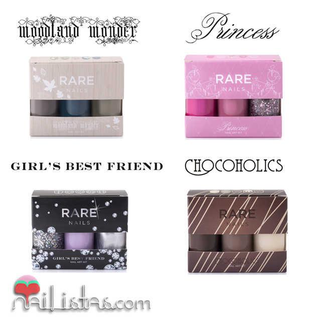 Kits de nail art y esmaltes de uñas Rare Nails
