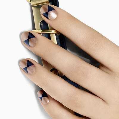 Diseños geométricos para las uñas