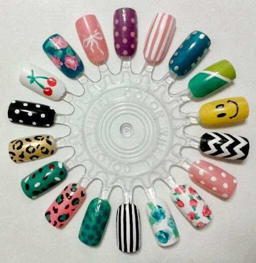 Diseños para uñas decoradas
