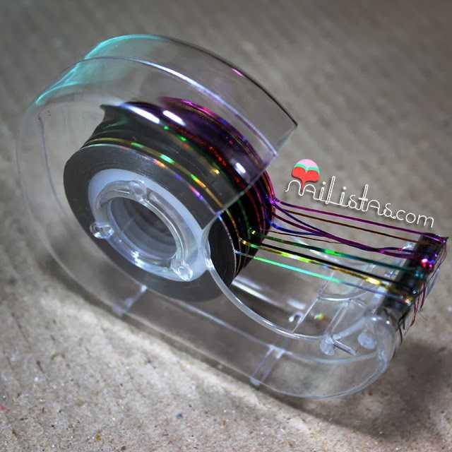 Stripping tape o cinta fina para nail art