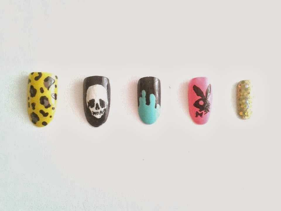 Diseños y nail art para uñas decoradas