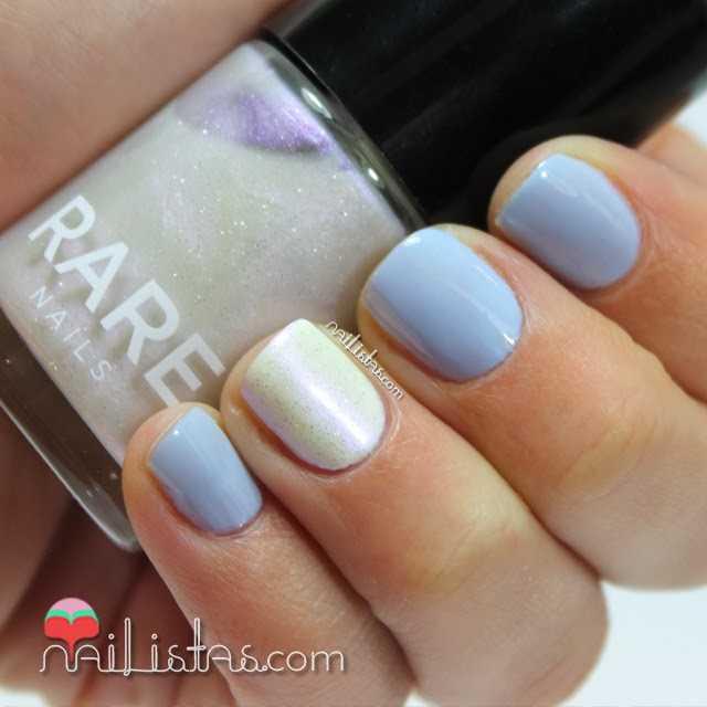 Esmaltes de uñas RARE Nails con colores fríos