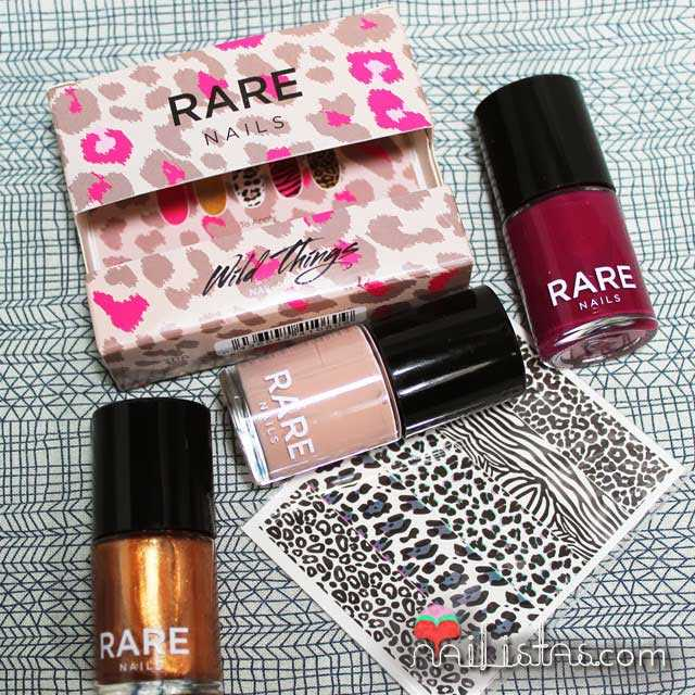 Kit de Rare Nails con Animal Print