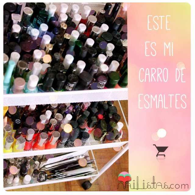 Almacenaje de esmaltes de uñas